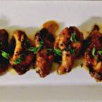Sesame-Honey Chicken Wings